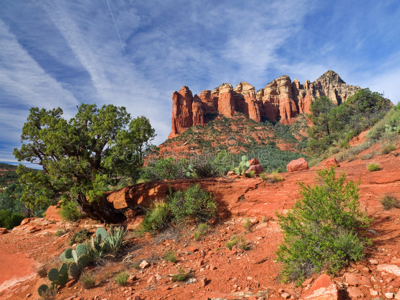 Download Red mountain stock photo. Image of mountain, desert, nature - 5070910