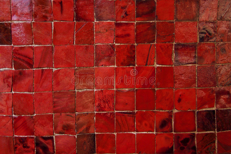 Download Red Murano Glass Tiles Pattern Stock Image - Image: 4443425