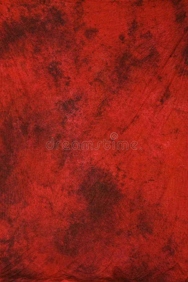 Red muslin photography backdrop royalty free stock image