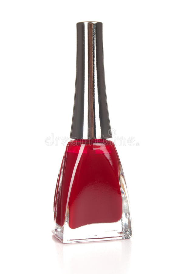 Download Red Nail Polish Closeup Isolated Stock Photo - Image: 26445204