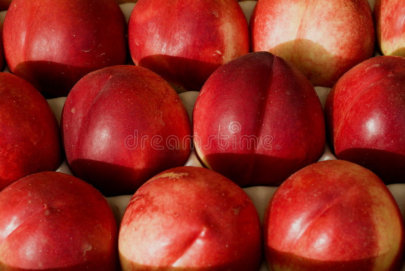Red nectarines