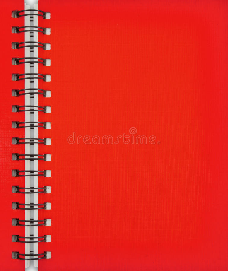 Download Red Note Book stock photo. Image of line, office, blank - 21236154