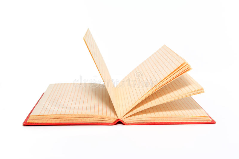 Red Note Pad Royalty Free Stock Image