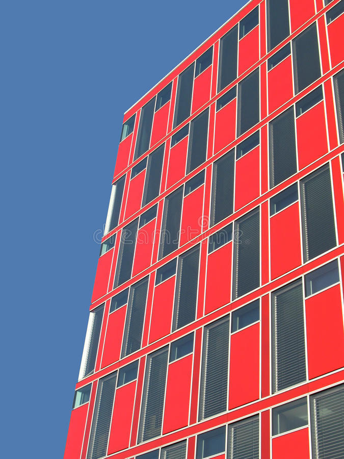 Free Red Office Building Stock Image - 12093731