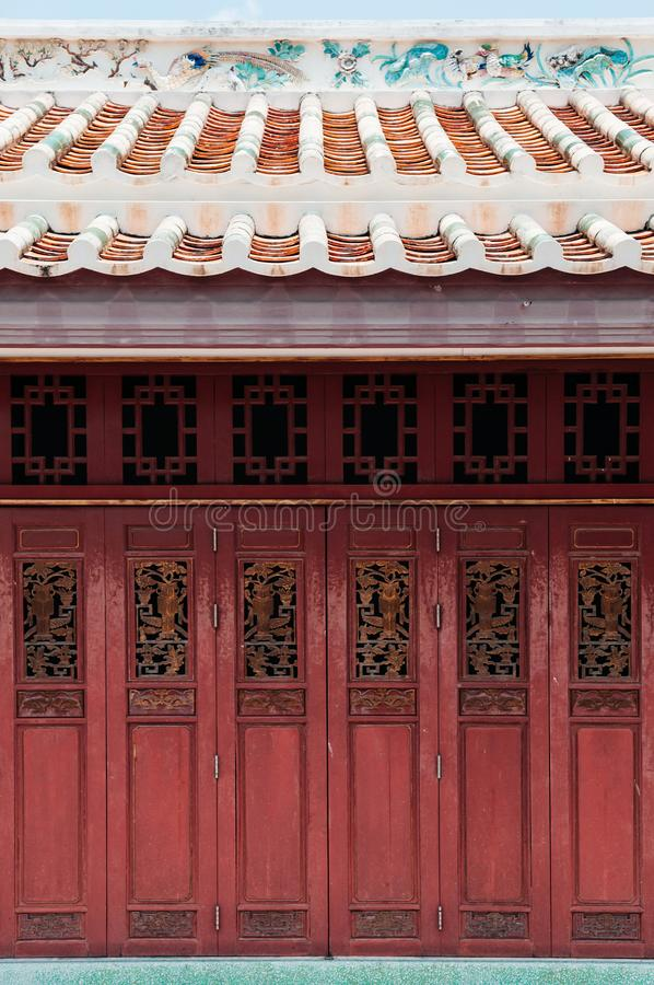 Wooden Chinese Doors Stock Images Download 831 Royalty