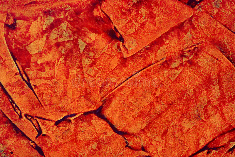 Red old stucco royalty free stock photo