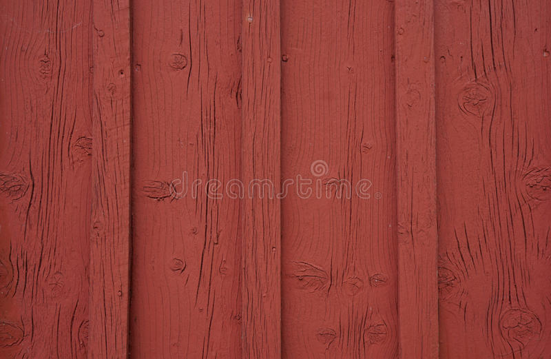 Red old wood panels stock images
