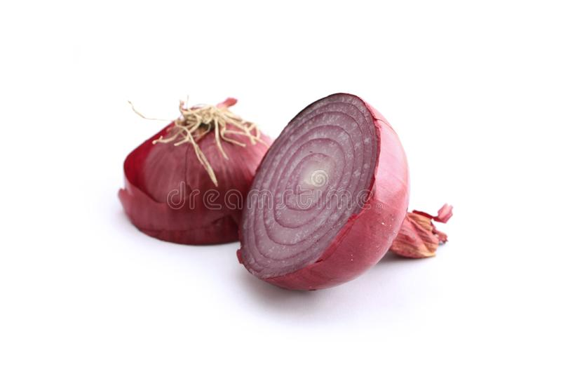 Red onion stock photos