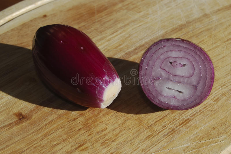 Red Onion Of Tropea Stock Photography