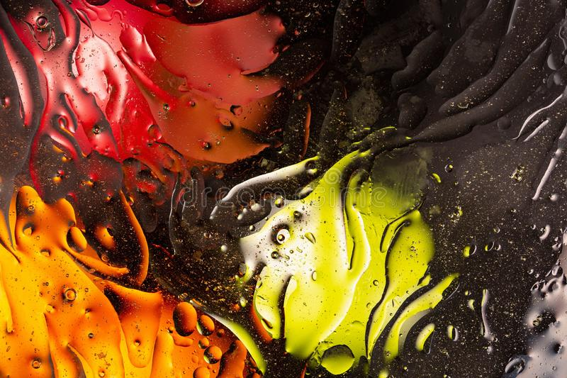 Red, orange,black, yellow colorful abstract design, texture. Beautiful backgrounds. stock photo