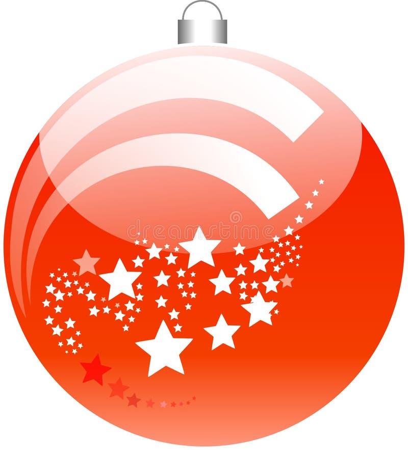 Red, Orange, Christmas Ornament, Christmas Decoration stock image