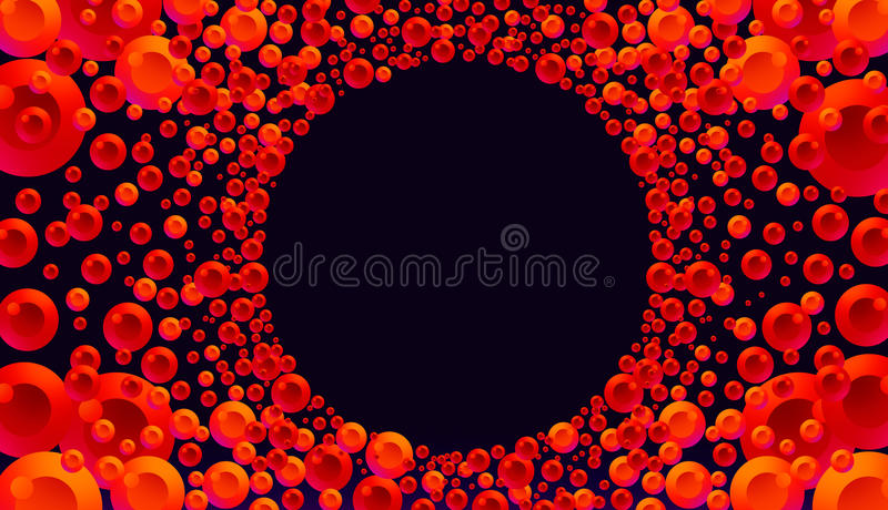 Download Red and Orange Color Burst stock illustration. Image of corporate - 36132650