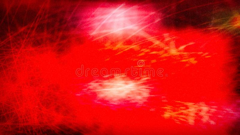 Red Orange Fireworks Beautiful elegant Illustration graphic art design Background stock illustration