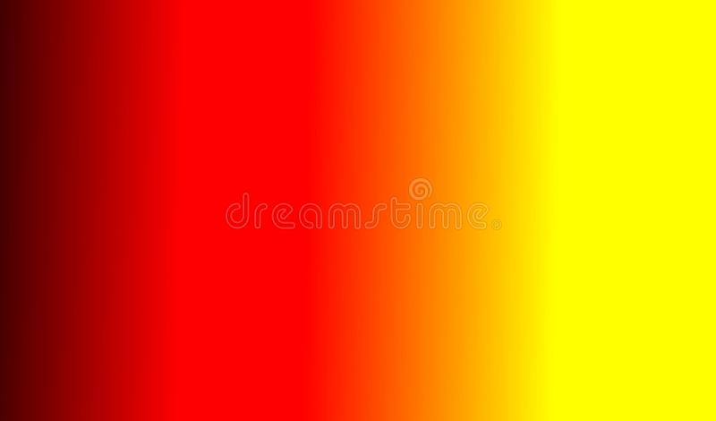 Red Orange Yellow Glowing Gradient Sign Background. Bright red and yellow gradient texture trendy background blended digital wallpaper backdrop design abstract vector illustration