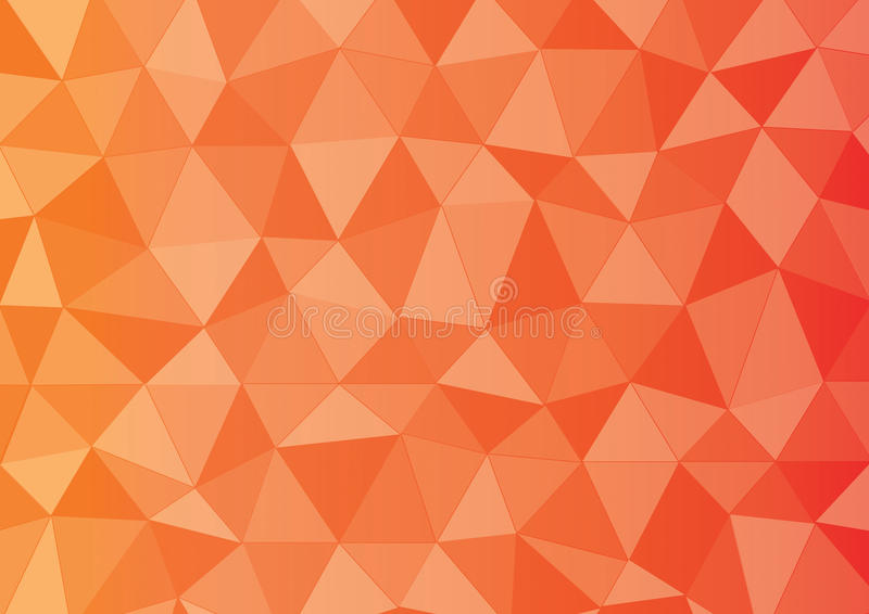 Red orange yellow triangle royalty free stock photography