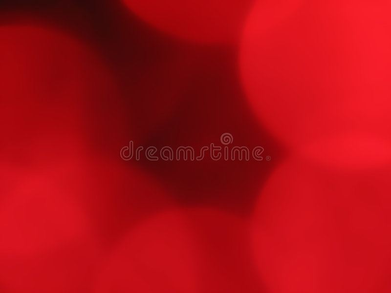 Red Orb Background Blur 1 Royalty Free Stock Photography