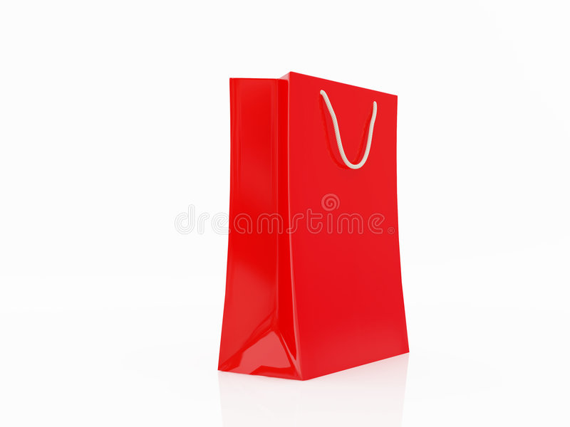Red Package For Products Royalty Free Stock Image