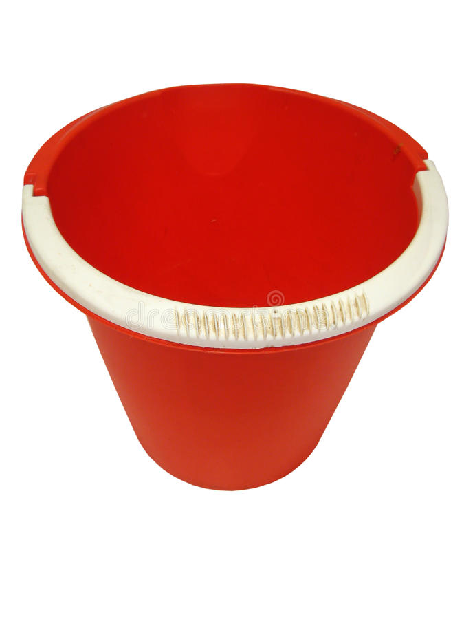 Download Red pail stock image. Image of pail, close, plastic, container - 22659181