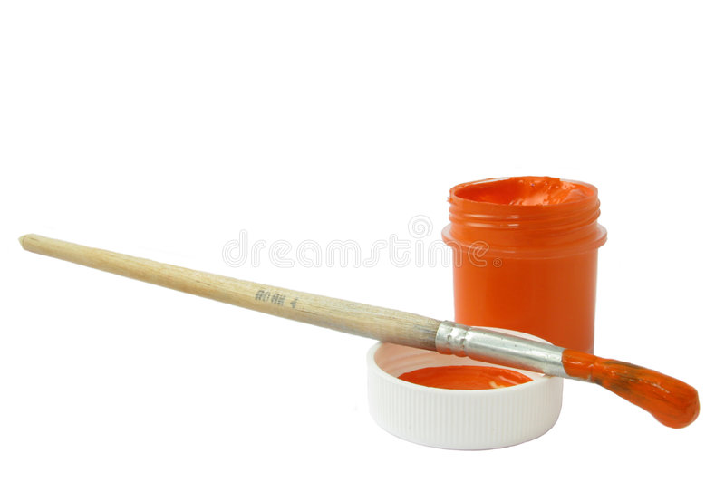 Download Red paint stock photo. Image of image, isolated, purple - 8653048