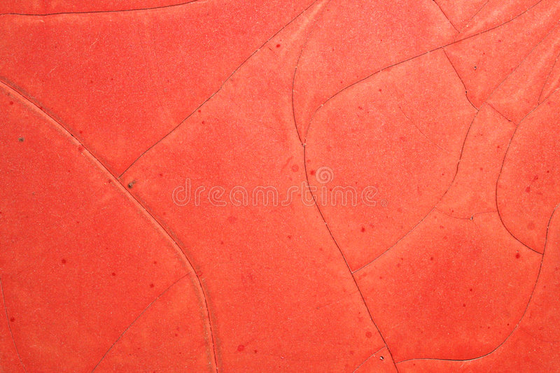 Download Red Paint Cracks stock photo. Image of paint, cracked, brown - 700036