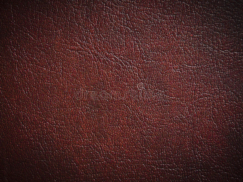 Red paint leather royalty free stock photos