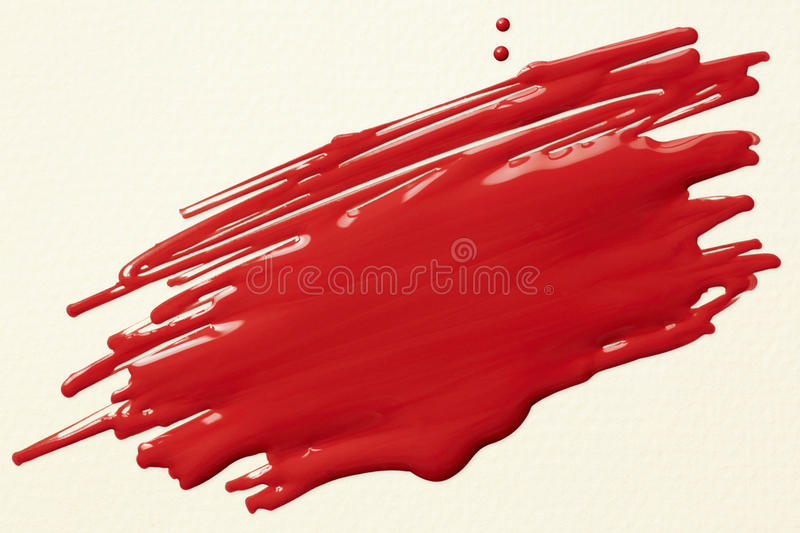 Download Red paint scribble stock illustration. Image of scribble - 33902485