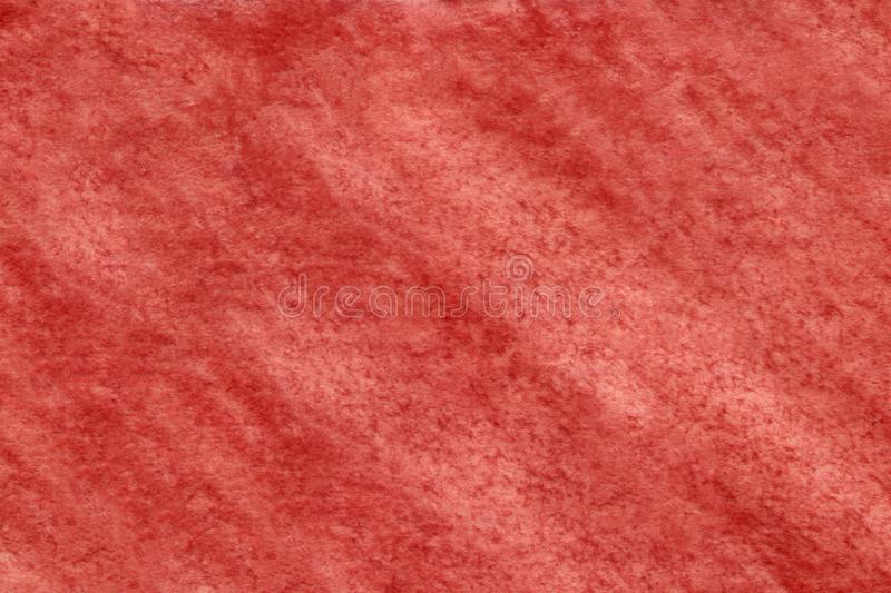 Red paint splash on cloth. Art color Illustration. Red abstract drawing. Red artistic abstract stock photo