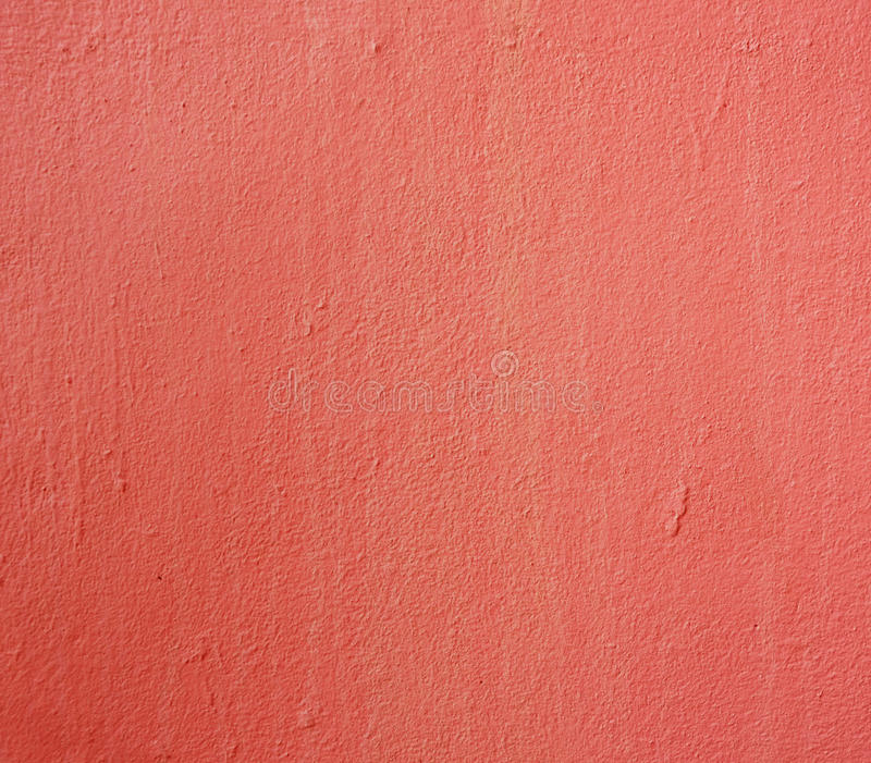 Red Paint Texture Of Cement Wall For Background Stock Photo Image