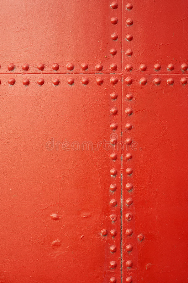 Download Red painted metal stock photo. Image of background, fabrication - 5683338