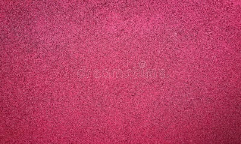 Red painted textured abstract background with brush strokes in gray and black shades.  stock image
