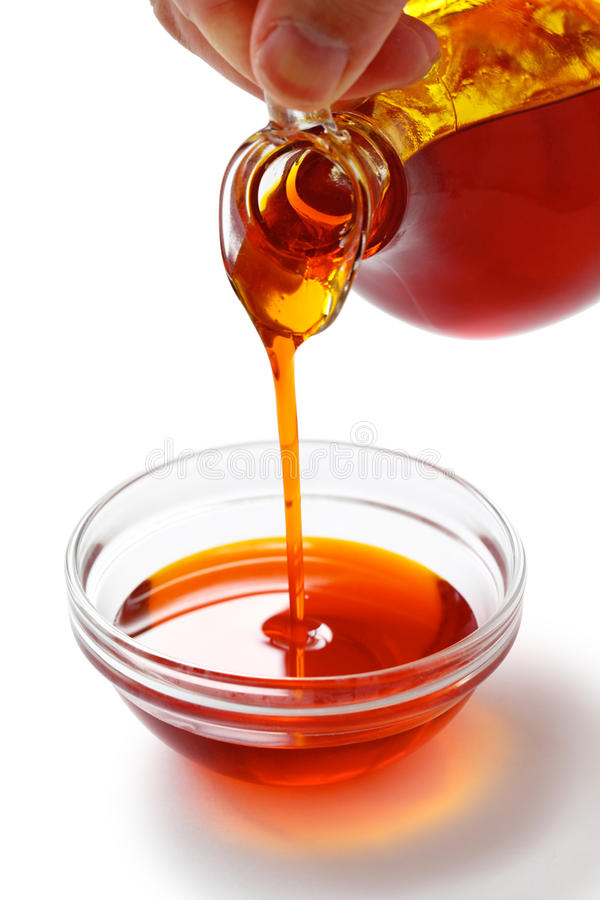 Red palm oil royalty free stock photos