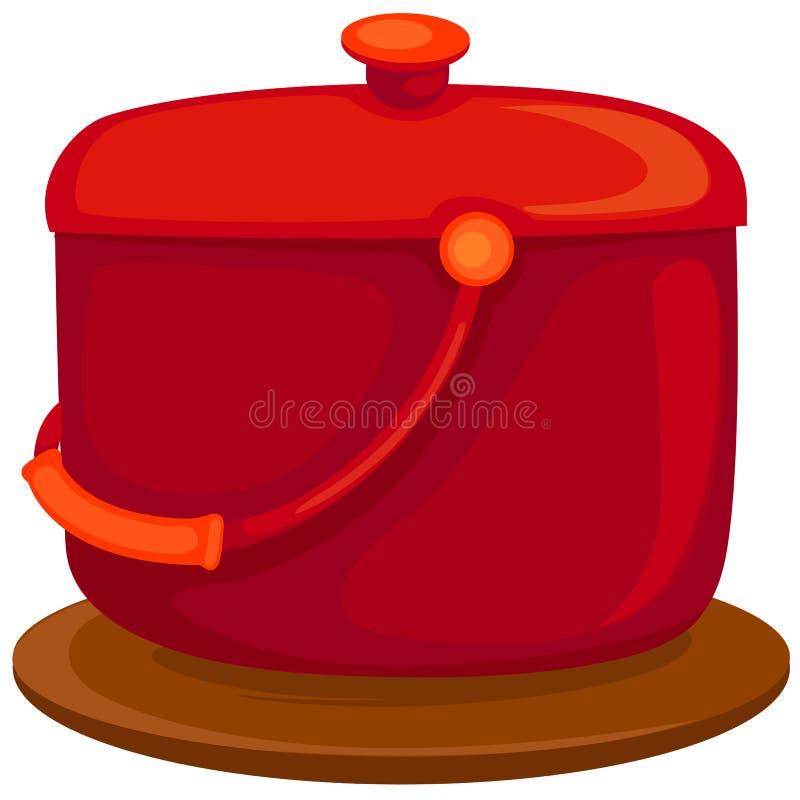 Red Pan Stock Photos
