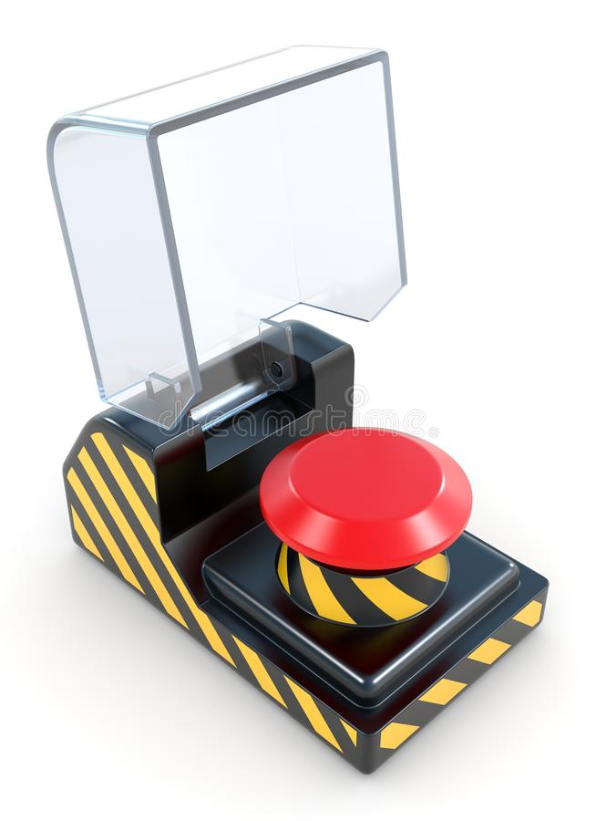 Download Red Panic Button Stock Photo - Image: 24420720