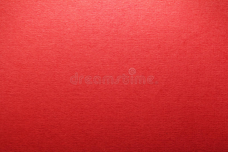 Red Paper. Texture for background. Top view stock image