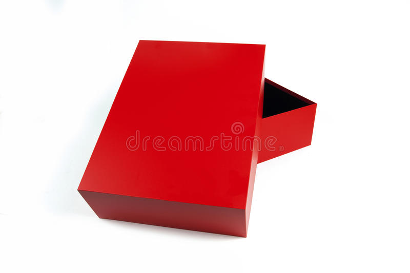 Download Red paper box stock photo. Image of white, pack, paper - 22113324