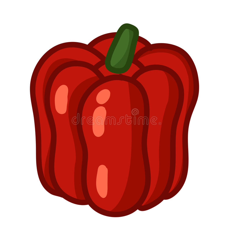 Red Paprika - Pepper Stock Images