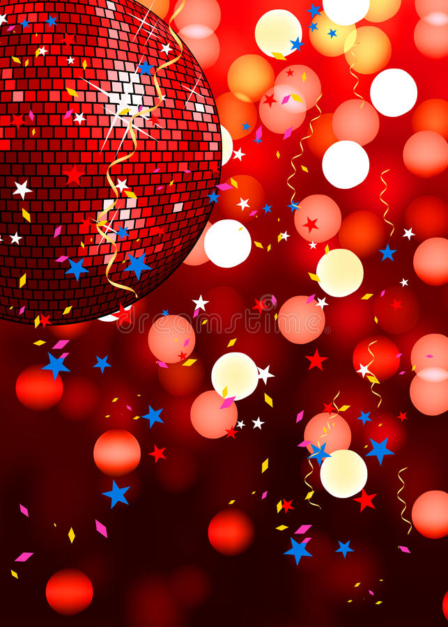 Download Red party background stock illustration. Image of luxury - 12731120