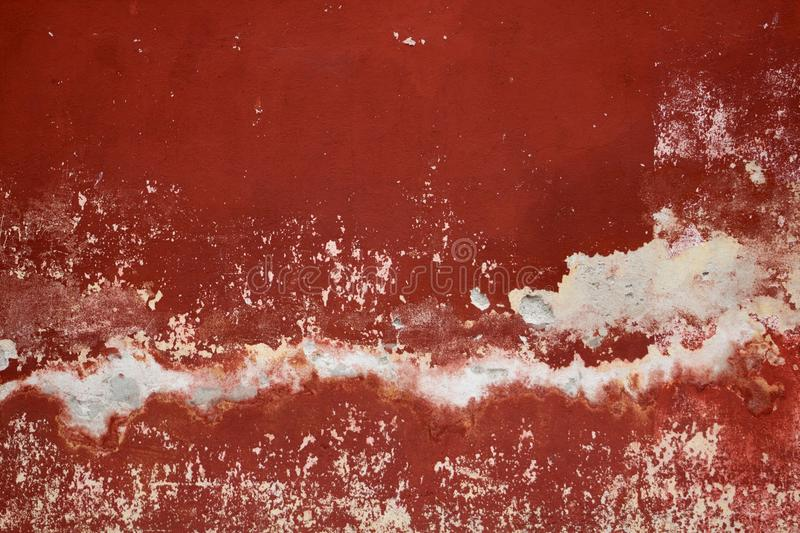 Red pavement wall stock images