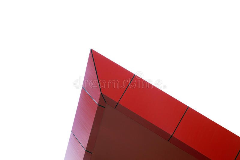 Download Red Peak Building Architecural Feature Stock Image - Image: 12904429