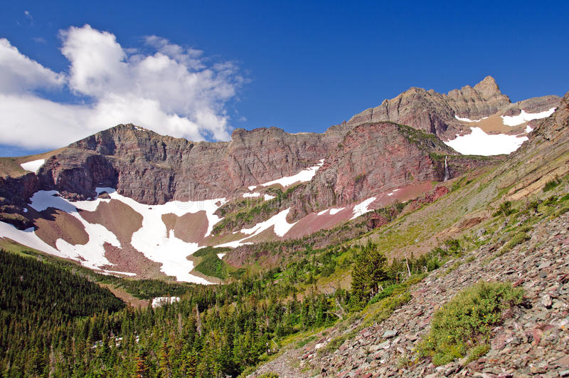 Download Red Peaks in the Wilds stock photo. Image of erosion - 21952230