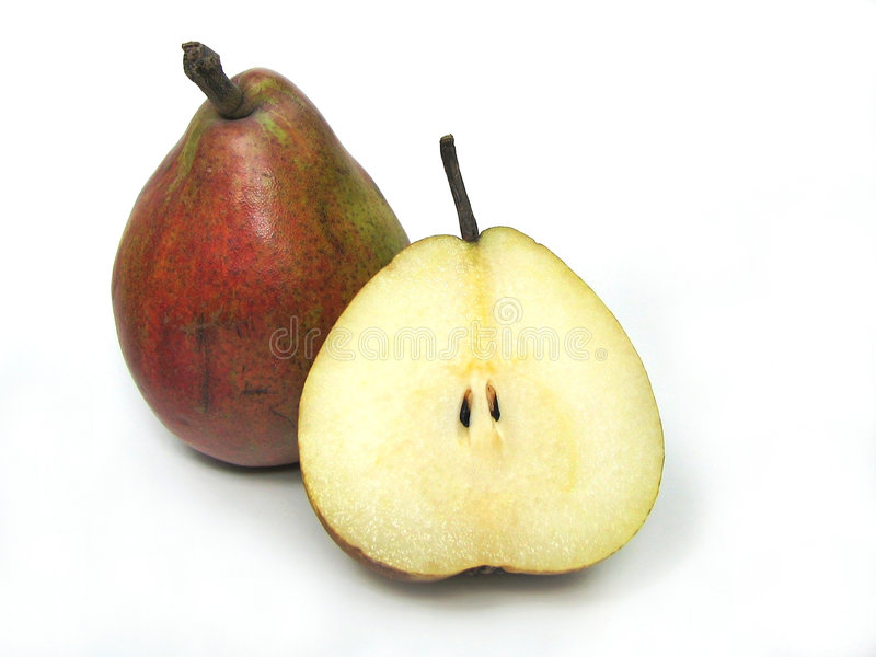 Red pear royalty free stock photography