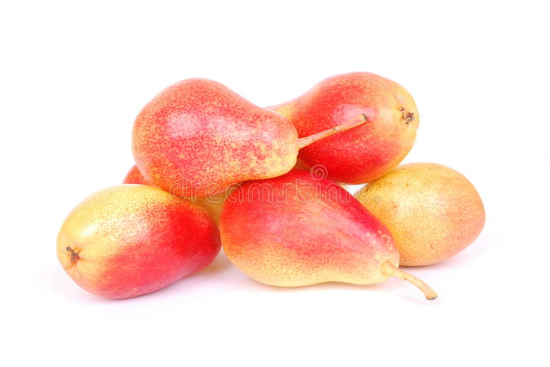 Download Pears on white stock photo. Image of healthy, bulk, vitamins - 15471770
