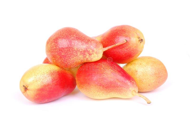 Pears on white stock photo