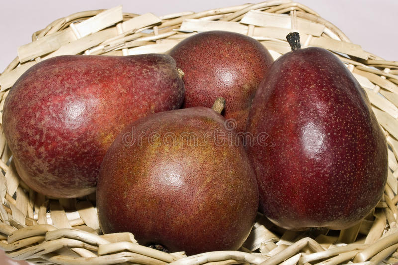 Download Red pears stock photo. Image of diet, eating, juicy, tasty - 17811986