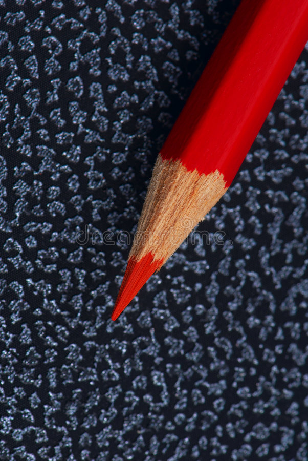 Download Red pencil stock photo. Image of rough, lead, bumpy, reddish - 5233818