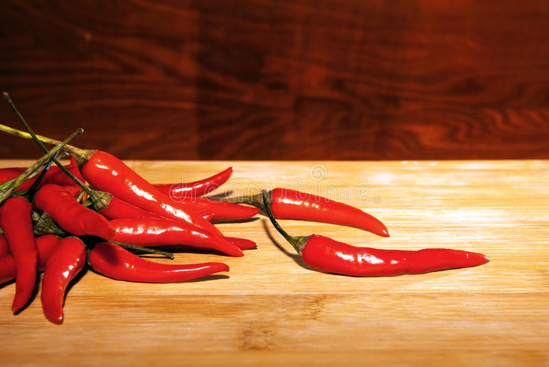 Red pepers royalty free stock photos
