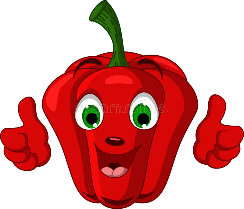 Image result for red pepper  character