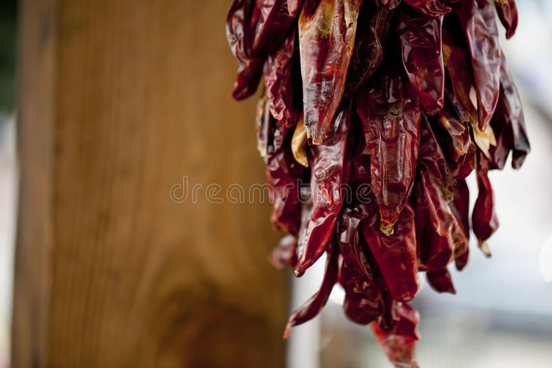 Red Pepper Garland stock photo