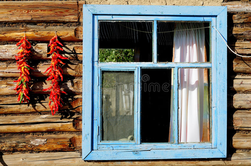 Download Red pepper and windows stock photo. Image of fall, flavor - 11159822