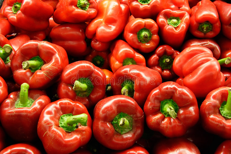 Download Red Peppers stock photo. Image of harvest, veggie, diet - 86092